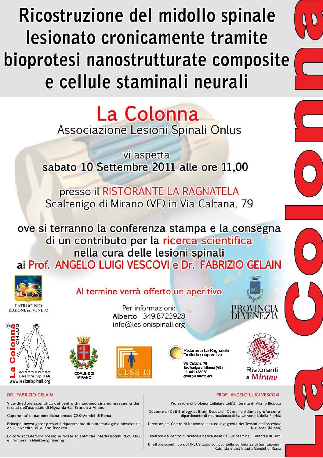 09.2011 Contributo Prof. Vescovi – nano tecnologie uni. bicocca 2011