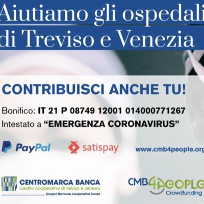 04.2020 La Colonna in favore degli ospedali di Treviso e Venezia
